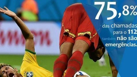 Para chamar a atenção do público, em suas redes sociais, usou a foto de Neymar. (Foto: Divulgação)