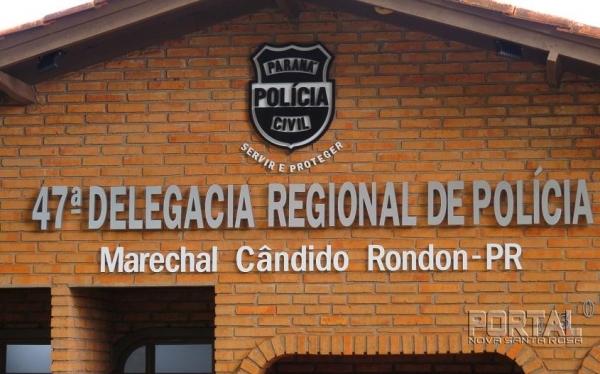 Delegacia de Marechal Rondon. (Foto: Arquivo)