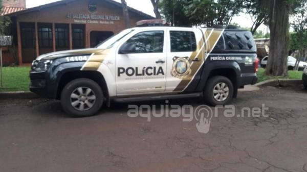 A Policia Civil prendeu os dois estupradores que foram denunciados (Foto: Cristine Kempp/AquiAgora.net )