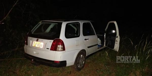 A PM de Guaíra recuperou o veículo. (Foto: PM)