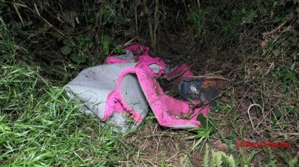 O corpo já estava em adiantado estado de decomposição. (Tribuna Popular)