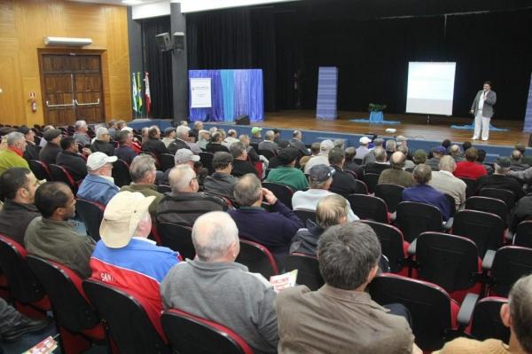 A palestra aconteceu na sexta-feira. (Fotos: Assessoria)
