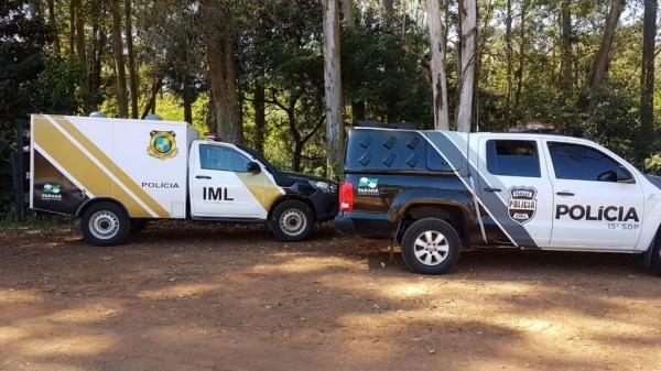 O Instituto Médico Legal também foi mobilizado e já fez o recolhimento do cadáver.(Fotos: CGN)