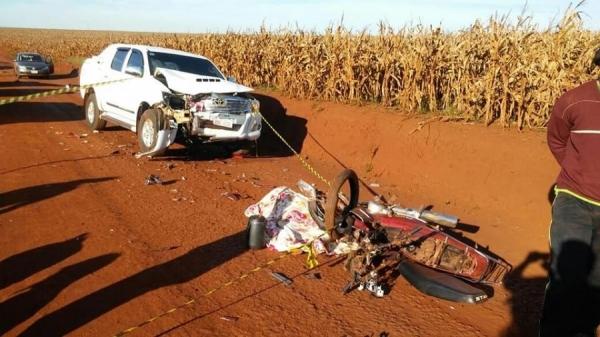 As irmãs faleceram no local do acidente (Foto: Santa Rita News Notícias )
