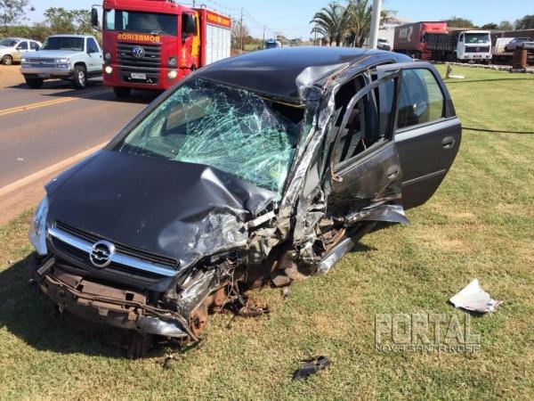 O professor foi vítima de acidente de trânsito na sexta-feira. (Foto: Marcio Cerny)