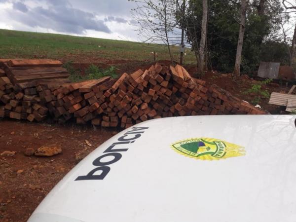 O proprietário deverá responder pelo artigo 46 da Lei Federal de Crimes Ambientais. (Foto: Polícia Ambiental)