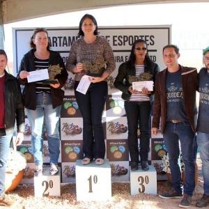 Premiação categoria femenino. (Fotos: Assessoria)