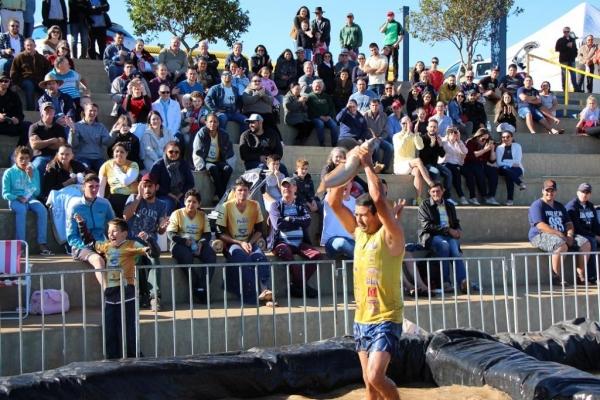 Rodeio do Bagre Ensaboado foi uma das atrações da 20ª Festa das Orquídeas e do Peixe. (Fotos: Assessoria)