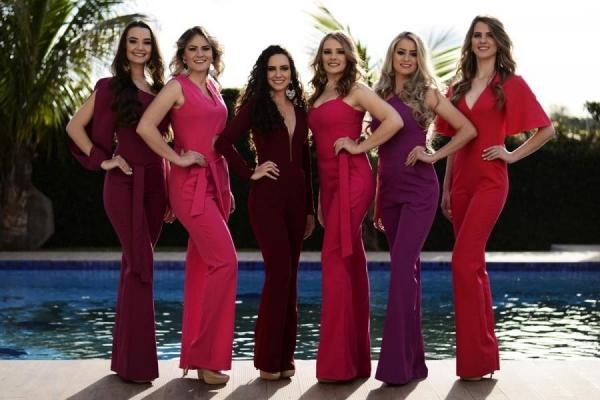 A noite contará com o desfile de seis belas candidatas que vão concorrer o título de Miss Mercedes 2018 (Foto: Assessoria )