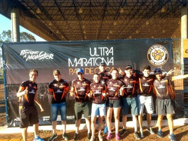 : Ciclistas da ARC conquistaram bons resultados na 5º Ultramaratona Pata de Onça. (Foto: Divulgação)