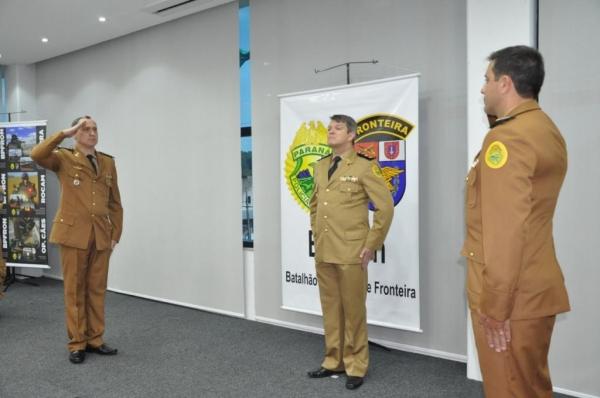 O Major Dorecki esteve a frente do BPFron por 1 ano e 5 meses. (Foto: BPFron)