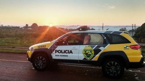A ocorrência foi registrada pela Polícia Militar.. (Foto: PP News)
