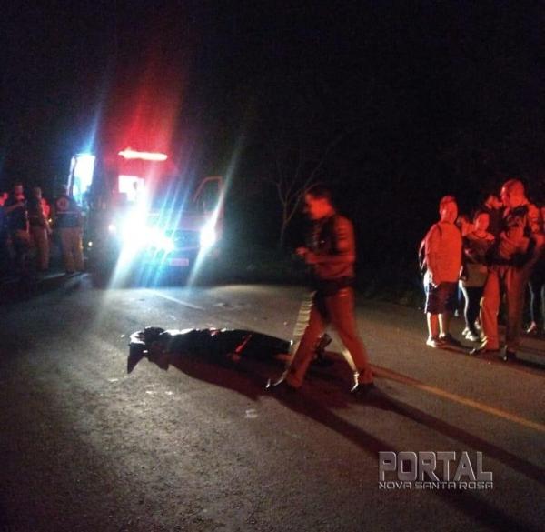 A vítima foi identificada como sendo Meire Previadeli, de 45 anos, moradora de Matelândia.(Foto: Rede Social)