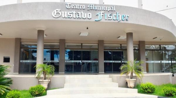 Teatro Gustavo Fischer. (Foto: Portal Nova Santa Rosa)
