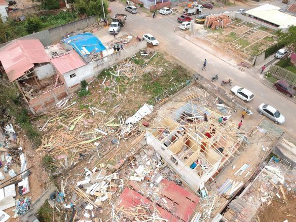 Itaperuçu: prejuízos já passam dos R4 6 milhões, e devem aumentar (Foto: Franklin de Freitas)