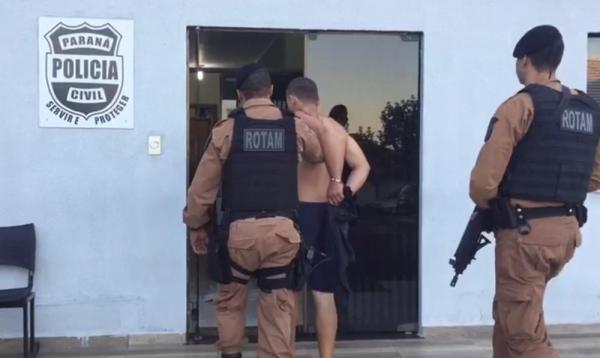 Operação combate roubo e tráfico de drogas em cidades do oeste do Paraná — Foto: Divulgação/Polícia Civil