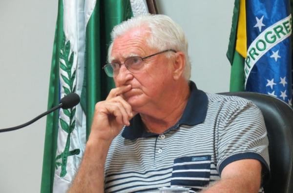 Presidente da Câmara, Pedro Rauber. (Foto: Reprodução)
