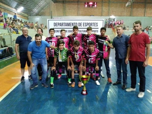 Campeonato de base envolveu 260 crianças em Maripá. (Fotos: Assessoria)