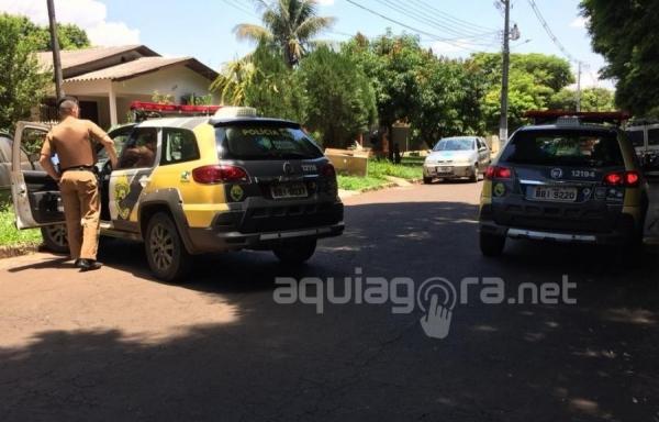 O agressor foi detido (Foto: AquiAgora.net )
