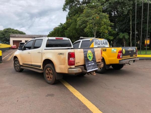 A recuperação ocorreu durante operação em Cascavel (Foto: PRE)