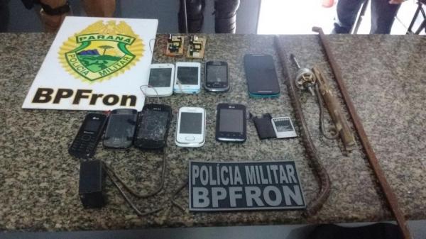 Equipes da Polícia Civil, Militar, o Batalhão de Fronteira e agentes carcerários auxiliaram na operação. (Foto: BPFron)