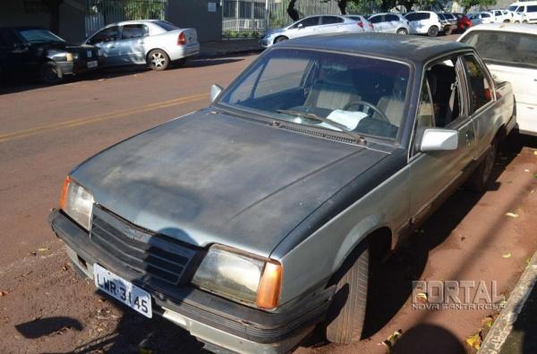 O veículo havia sido furtado (Foto: Bogoni)