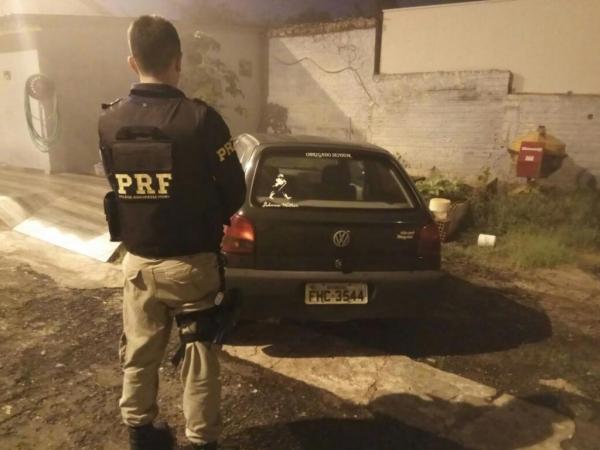 O veículo foi detido em Matelândia. (Foto: PRF)