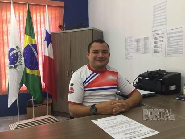 Éder Pavão comentou sobre o Campeonato. (Foto: Portal Nova Santa Rosa)