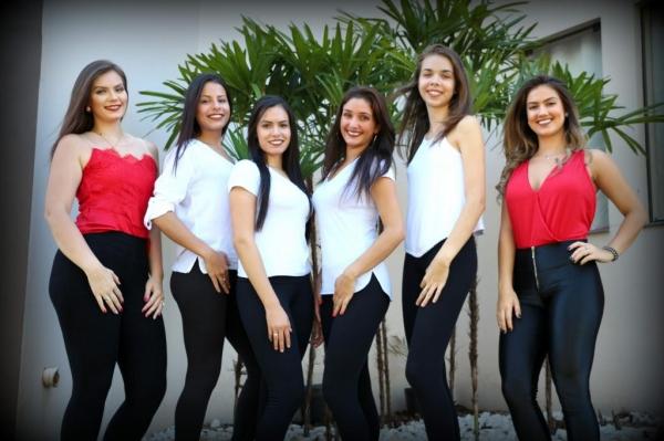Seis meninas participarão do concurso .(Foto: Assessoria)