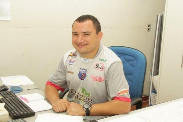 Diretor do Departamento de Esportes da Prefeitura de Nova Santa Rosa, Éder Pavão . (Foto: Assessoria)