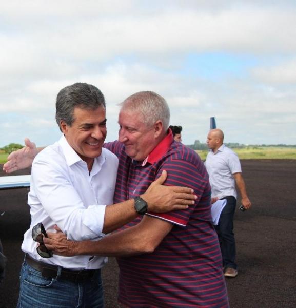 O governador do Paraná, Beto Richa, já esteve em Marechal Rondon na manhã de hoje (16) (Foto: Assessoria )