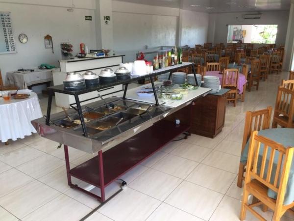 Restaurante e Churrascaria Aquarius. (Foto: Portal Nova Santa Rosa)