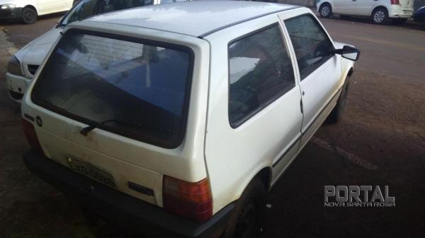 O veículo havia sido furtado na manhã desta segunda-feira.(Foto: Bogoni)