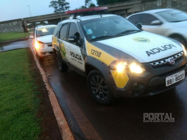 Apenas danos materiais nos veículos. (Foto: Marechal On Line)