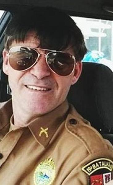 Cabo Pacífico atuou como Policial Militar por muitos anos nas cidades de Marechal Cândido Rondon, Mercedes e Guaíra (Foto: Reprodução )