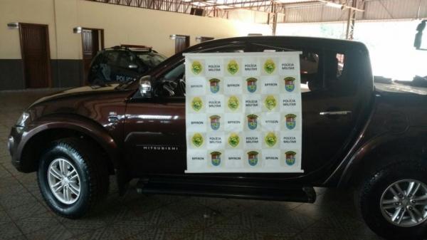 Este foi o segundo veículo recuperado neste sábado na cidade de Guaíra após denúncia anônima. (Foto: Assessoria)