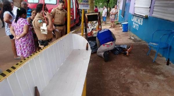 Jovem de 18 anos morre após levar tiro na cabeça em Cascavel (Foto: Tarobá News )