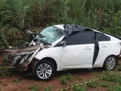 Paranaenses morrem em acidente no Mato Grosso (Foto: Goio News )