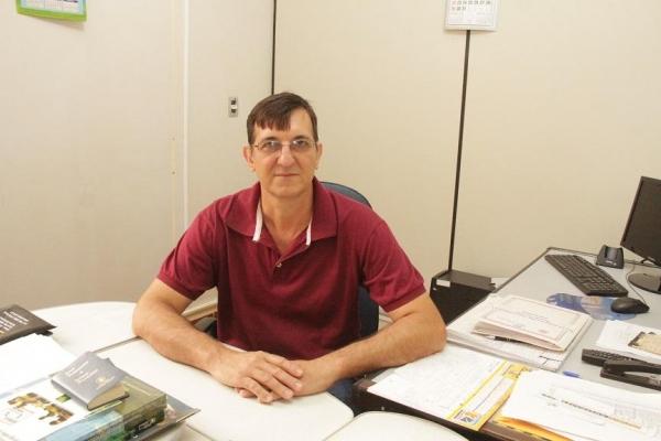 Secretário de Finanças, Ari Schmidt. (Foto: Assessoria)