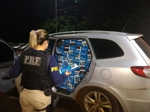 O veículo havia sido roubado em Porto Alegre. (Foto: PRF)