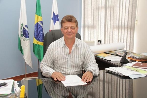 O prefeito Norberto Piz, convida a população local e regional para prestigiar a programação especial de aniversário . (Foto: Assessoria)
