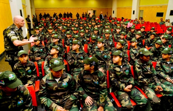 Foram formados nesse evento 120 alunos. (Foto: Polícia Ambiental)