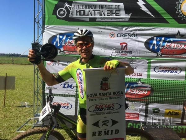 Juliano da Cicles garantiu a 3ª colocação na prova. (Foto: Divulgação)