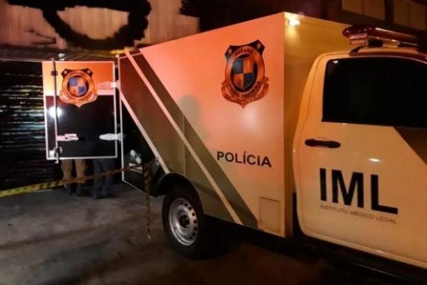 O corpo de Maurício foi encaminhado ao IML (Instituto Médico-Legal) de Umuarama.. (Foto: O Bemdito)