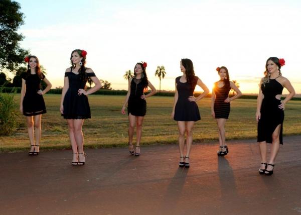 . O concurso de beleza visa eleger a mais bela nova-santa-rosense. (Foto: Divulgação)