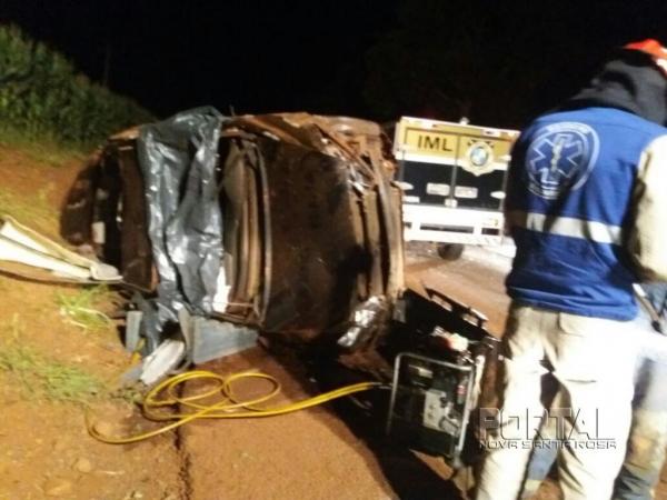 O acidente teve uma vítima fatal (Foto: Divulgação)