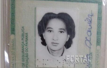 A mulher foi identificada como Neuza Aparecida Xavier de 58 anos. (Foto: Divulgação)