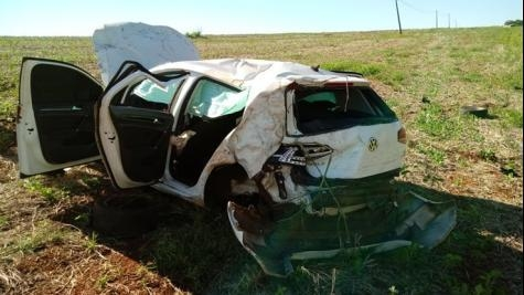 As causas do acidente não foram informadas.(Foto: PP News)