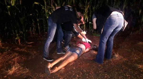 A vítima foi identificada como Fátima dos Santos Ribeiro. (Foto: Tarobá News)