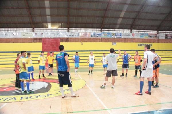 O time vem treinando para a competição no Eurides Priebe. (Foto: Portal Nova Santa Rosa)